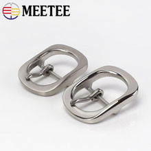 1PC Fashion Solid Stainless Steel Belt Buckles Metal Pin for 29-30mm Mens Jeans Head DIY Leather Craft