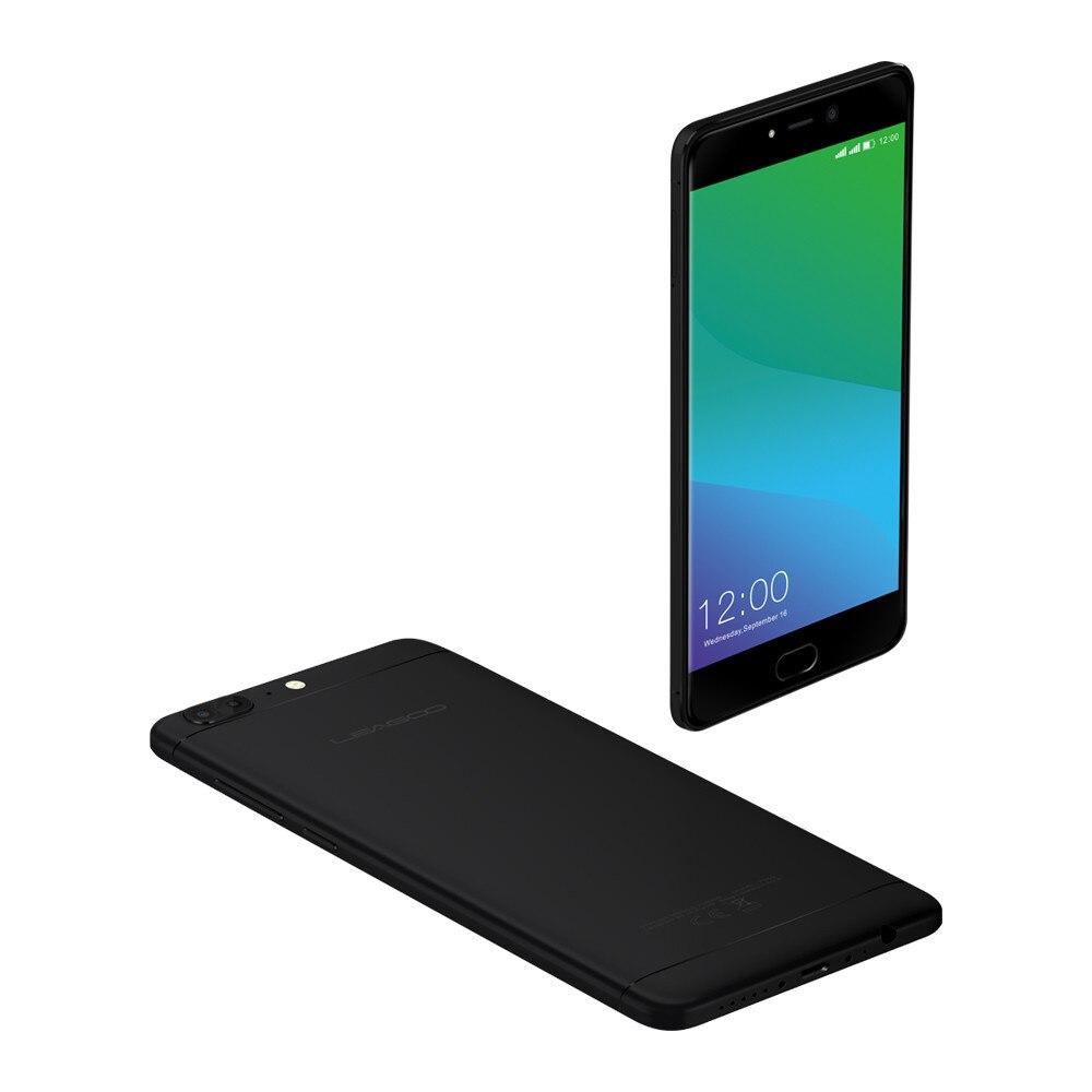 1afd8a9b6f6c Leagoo T5 4 г LTE смартфон 5.5 дюймов MTK6750T Octa core 4 ГБ Оперативная  память 64 ГБ Встроенная память 13MP двойной камеры Android 7.0 мобильный  телефон ...