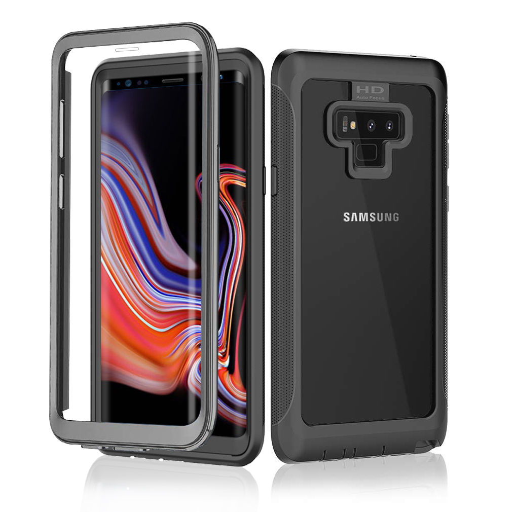 360 Degree Full Body Phone Case For Samsung Galaxy Note 9 Built-In Anti-Scratch Screen Protector For Samsung S9 Plus S10 Cover