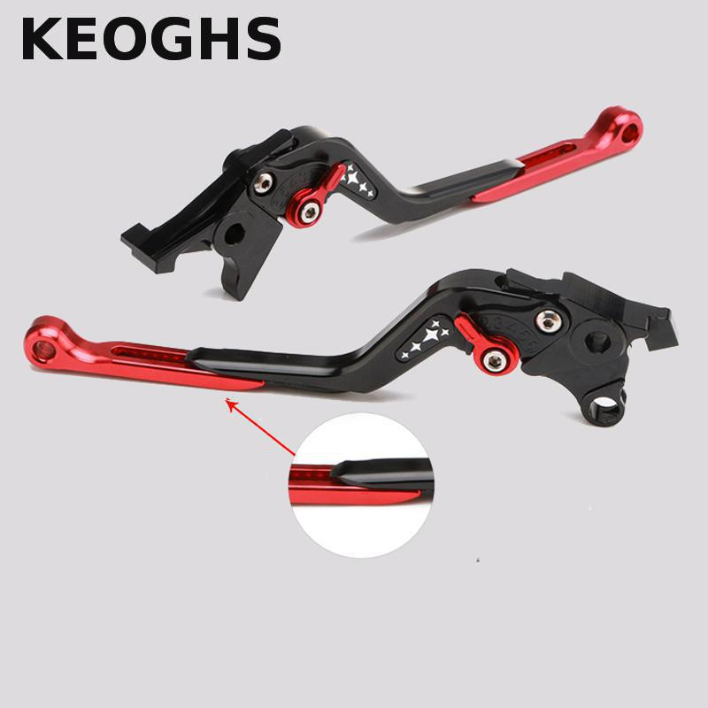 Keoghs Motorcycle Cnc Brake Clutch Levers Adjustable Extendable 135mm-190mm For Honda Vfr800 2002-2016 Free Shipping top new cnc motorcycle brakes clutch levers for honda cbr 600rr 1000rr fireblade sp 2007 2015 accessories free shipping