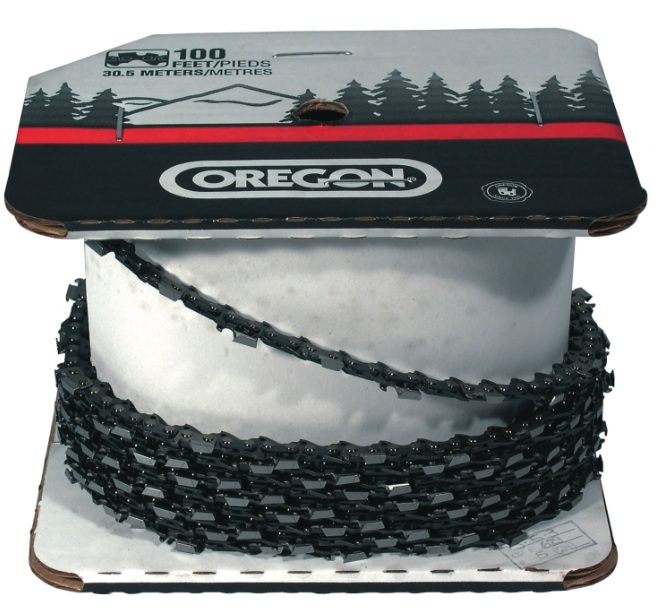 Aftermarket parts chain oragon 72LGX100 Ft Roll Full Chisel Chain 3/8 x .50 Gauge