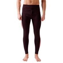 2016 New Winter Warm Men Thermal Tight Underwear Men's Cotton Pants Long Johns Mens Polyester Thermal Underwear set
