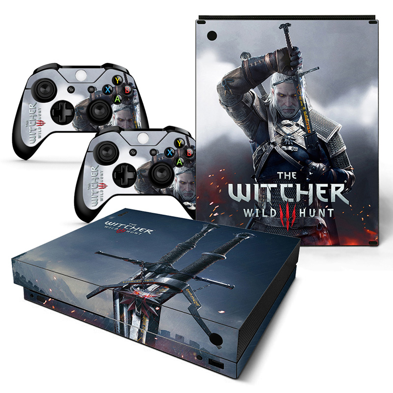 Us 233 35 Offhigh Quality The Witcher Skin Stickers Factory Supply For Microsoft Xbox One X Vinyl Skin Stickers In Stickers From Consumer