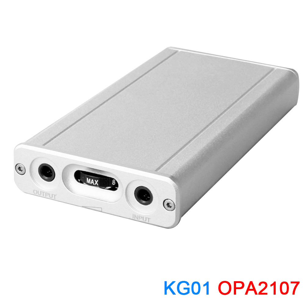 KGUSS KG01 MINI HIFI Class A Portable Headphone Amplifier OPA2107 AUDIO AMPKGUSS KG01 MINI HIFI Class A Portable Headphone Amplifier OPA2107 AUDIO AMP