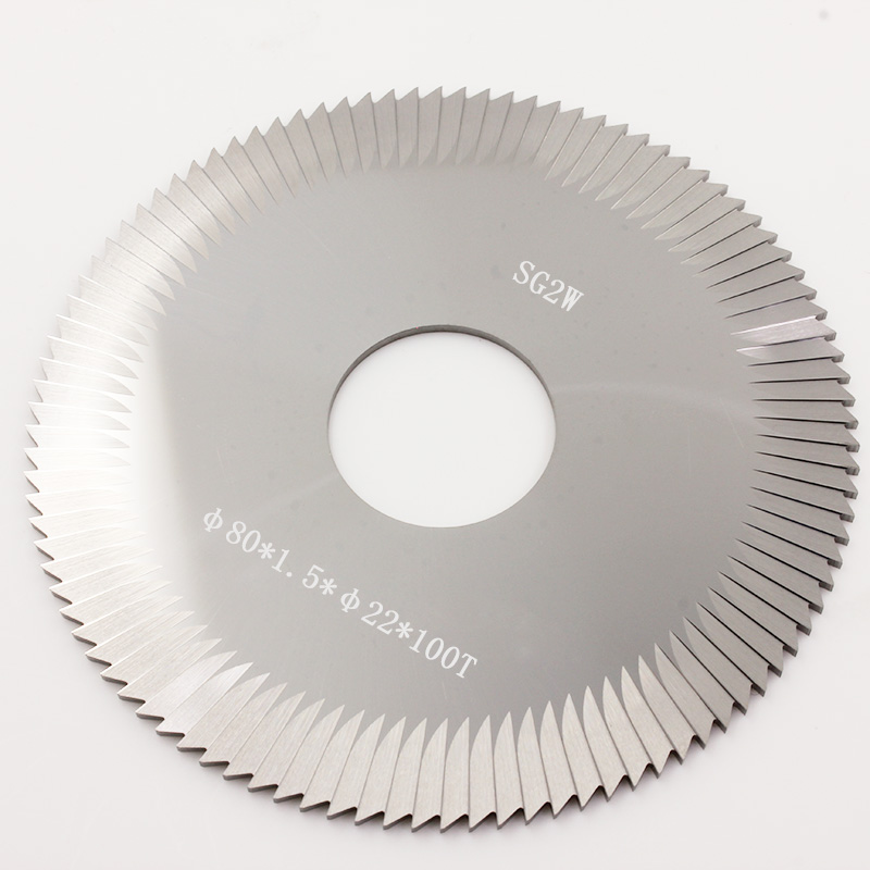 carbide 80x22x1 5mm side milling cutter SG2W carbide face milling cutter for SILCA key cutting machines