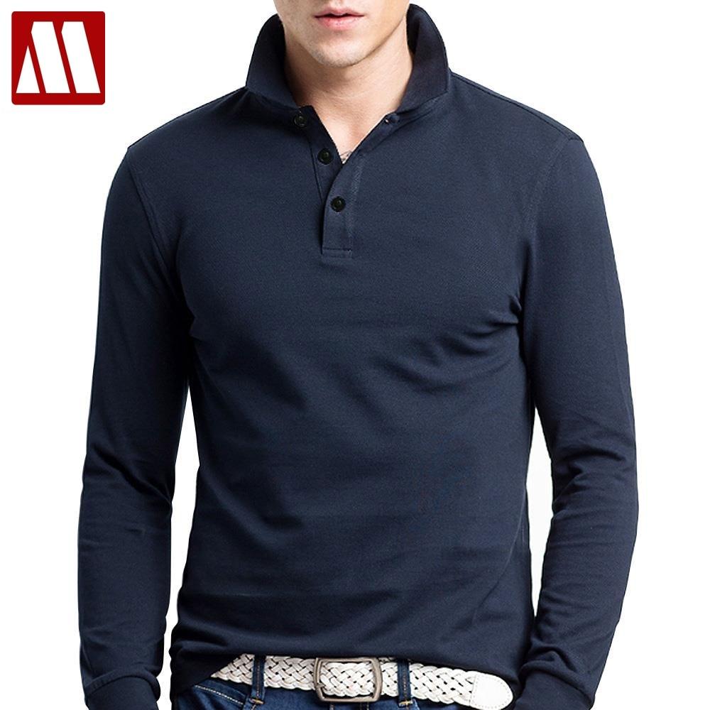 90b7eddacd51 Brand Men Polo Hombre Shirt Mens Fashion Collar shirts Long Sleeve Casual  Camisetas Masculinas Plus Size
