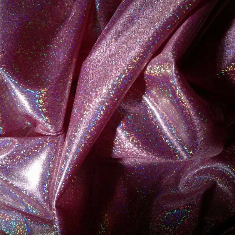 Laser Kleurrijke Symfonie Glitter Doek Bruiloft Stadium Decoratie Foto Heldere Kleding Stof
