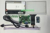 1280 800 7 Inch IPS LCD Screen N070ICG LD1 With Touch Panel Screen HDMI VGA 2AV