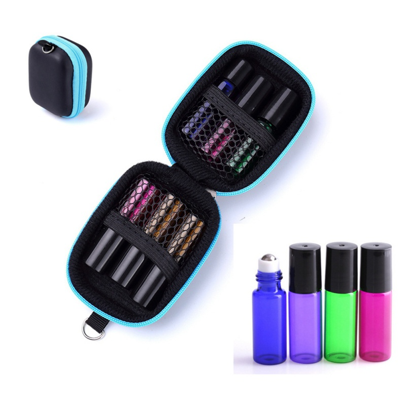 Storage-Case Essential-Oil Roll-On Carrying Portable 1pc 5-Ml Oils