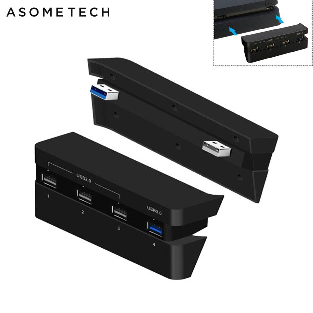 USB Hub 3.0 Super Speed 4 Ports Wireless Multi USB 3.0 2.0 Hub For PS4 Slim HUB USB Splitter Hab Adapter For Sony PlayStation 4