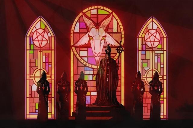 Souvent DIY frame Ghost B.C. Black Death Dark Satanic Occult Heavy Metal  GD64