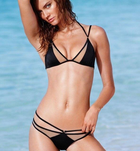 Hot ebony in bikini