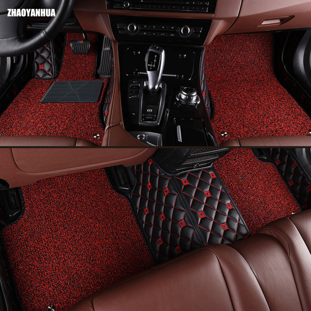 Custom fit car floor mats specially for Chevrolet Cruze 5D heavy duty carpet leather rugs floor liners (2000 now