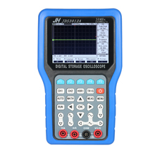 Handheld Digital Oscilloscope 2 Channels Storage usb oscilloscope logic analyzer 30MHz 250MSa/s Multimeter + Signal Generator цена