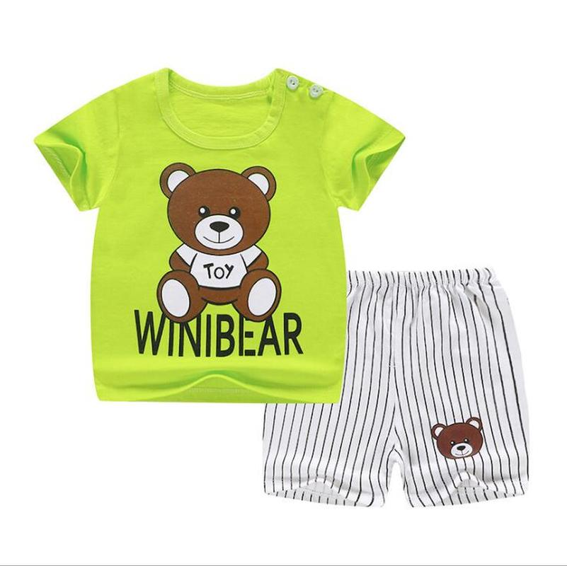 Children Short Sleeve Set Pure Cotton Girl Summer Boys Shorts Baby Baby Clothes Korean Children's Wear 2019 Free shipping-in Clothing Sets from Mother & Kids on Aliexpress.com | Alibaba Group