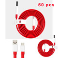 50pcs New  1M Type-C Charge Round Cable USB Fast Charging Data Cable For OnePlus 3 For Huawe i P9 for OnePlus 3