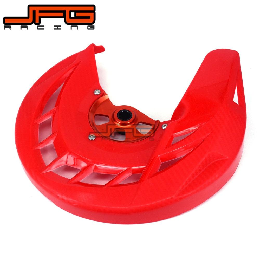 X-Brake Front Brake Disc Rotor Guard Cover Protector Protection For CR CRF CR125 CR250 CRF250R CRF450R CRF250X CRF450X MX SM