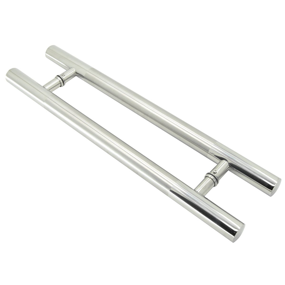 1 pair 600mm / 24 inches 304 Stainless Steel Bathroom Door Glass  Big Office Glass Door Hardware Handles Pulls Doorknobs new automatic door closer mayitr household adjustable stainless steel hotel office surface mounted closing device for hardware