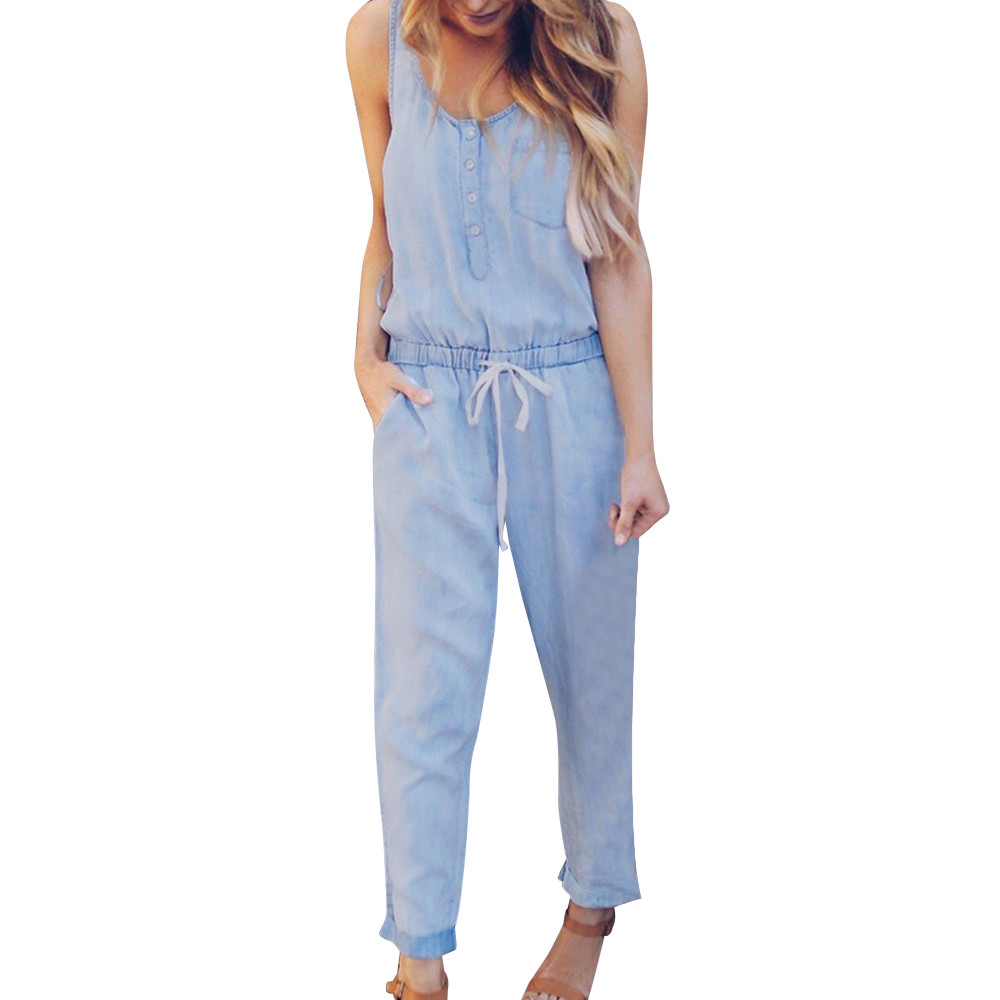 4785d4f72423 Buy women denim elastic overalls and get free shipping on AliExpress.com