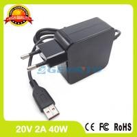 20V 2A 40W Ac Adapter ADL40WLF ADL40WLD 36200583 36200584 ADL40WLE Laptop Charger For Lenovo Yoga 3