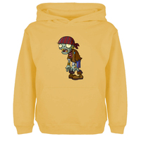 Plants VS Zombies PVZ ZOMBIE Funny Game Unisex Hoodies Men Women Hip Hop Sweatshirt For Gir