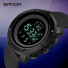 SANDA Waterproof Man Military Sports Watch Fashion Electroni