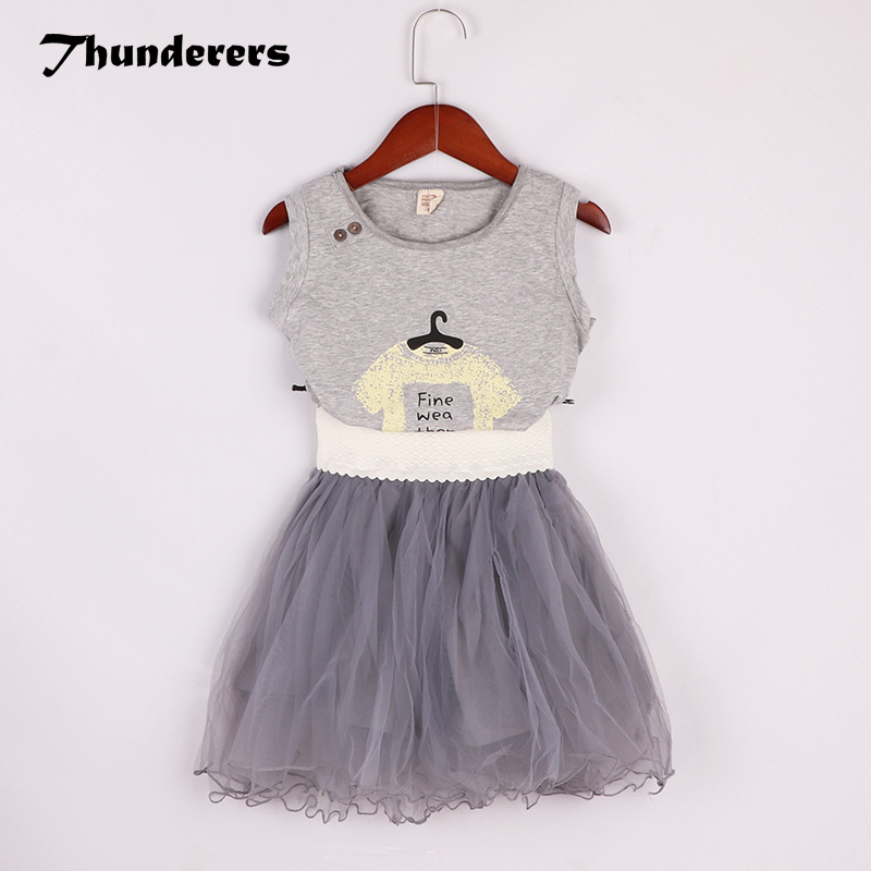 51841f320ff Online Shop Little Kids Clothes Set New Fashion Girl s Summer Clothing Suit  Cotton Tops + Grey Tutu Skirt Casual 2018 Pretty Children Outfit