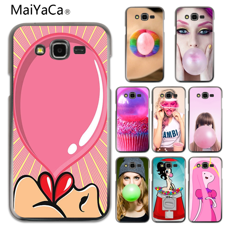 Phone Bags & Cases Maiyaca Bubblegum Novelty Fundas Phone Case Cover For Samsung A310 A510 A710 J120 J510 J710 Cellphones Lovely Luster Half-wrapped Case