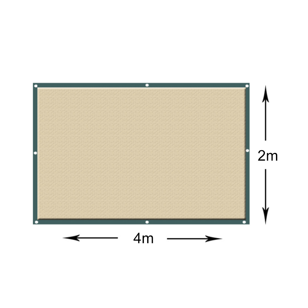Outdoor Sun Shelter Net 6 Needle Thickened Covered  (7)