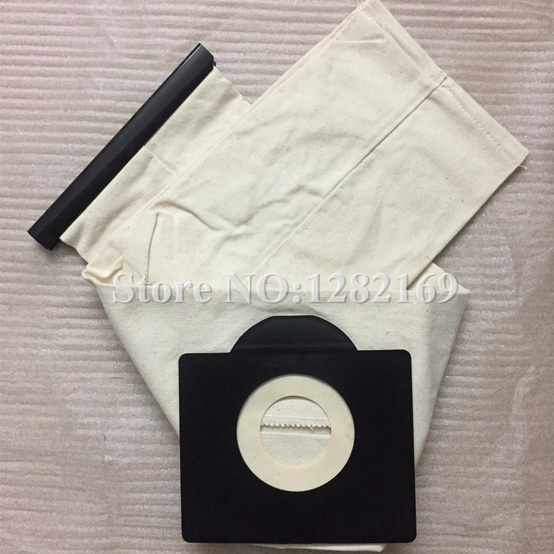 1 piece Dust Bag Reuse Washabe Cloth Bag for karcher WD3 MV3 SE4001 A2299 K 2201 F K 2150 Vacuum Cleaner Parts