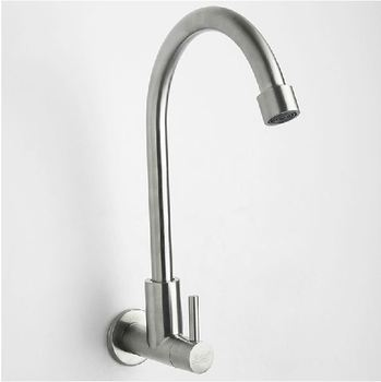 304 stainless steel faucet wall mounted kupper single cold water rotating faucets велогибрид kupper unicorn зелено черный