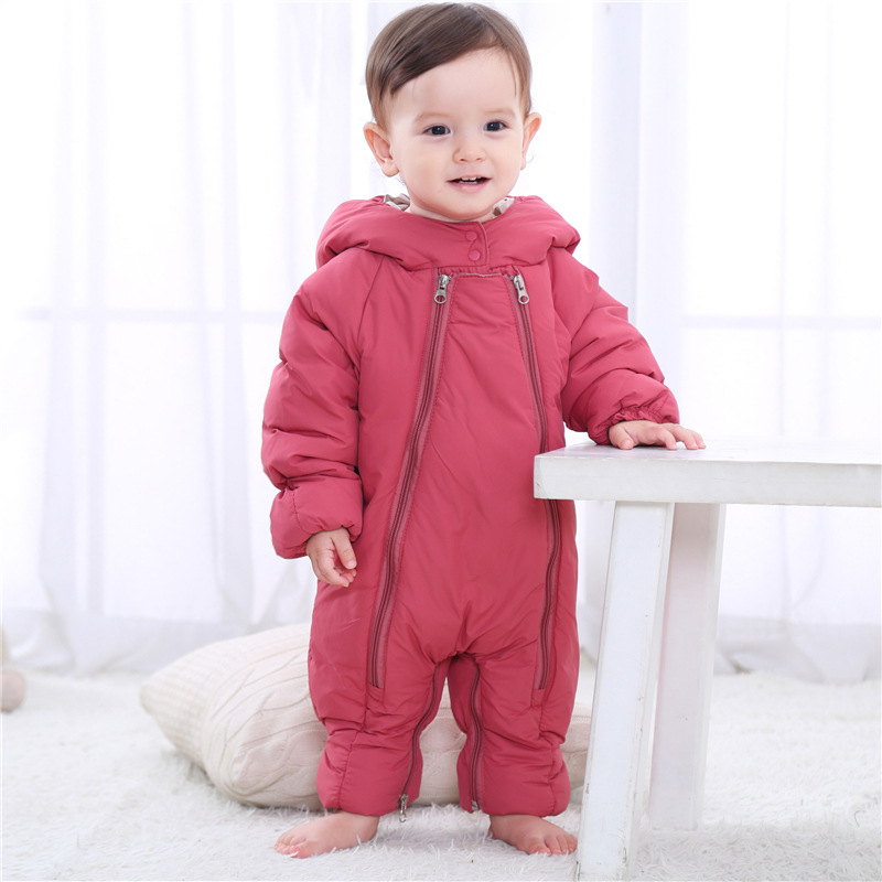 The Winter Coat For 2017 Newborn Baby Sit Ups New Thick Warm Infant Children Clothing  Baby Boys girls Rompers туфли ecco ecco mp002xm0sxel