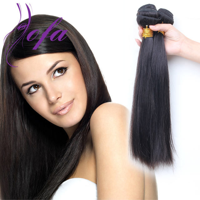 8a Brazilian Virgin Hair Straight 3pcs Lot Human Hair Weft