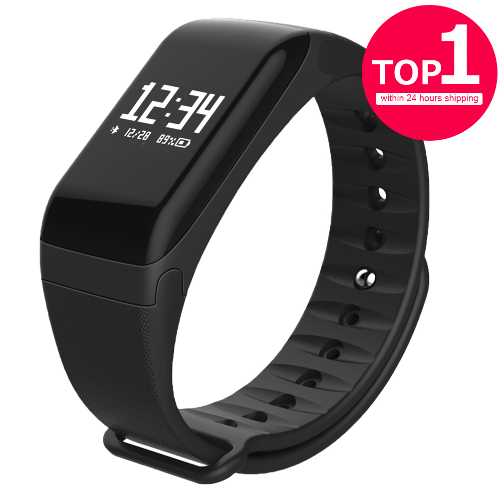 Smart Band LERBYEE F1 Wristband Heart Rate Monitor Fitness Flex Smart band Bracelet for Android iOS Smartphone PK mi Band 2