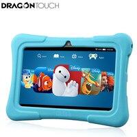 Dragón touch Y88X PLUS 7 ''Tablet Kids para Niños Quad Core Pantalla IPS 1024*600 Android 5.1 1 GB + 8 GB Wifi Babypad Con caso