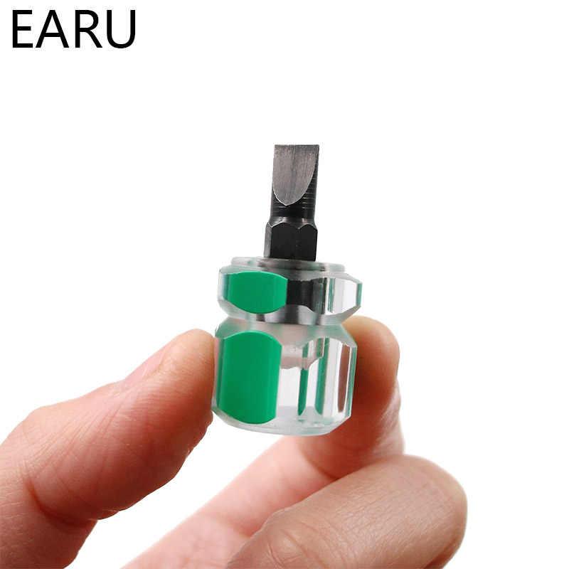 Набор отверток для ремонта автомобилей, 1 шт., мини-маленький портативный винт с редисковой головкой, прозрачная ручка, ручные инструменты для ремонта, точность