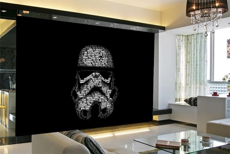 Camera Da Letto Star Wars : Spedizione gratuita star wars film wallpaper sfondo comodino