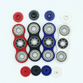 4 Color High Quality wo-Spinner Fidget Plastic EDC Hand Spinner For Autism and ADHD Rotation Time Long Anti Stress Toy