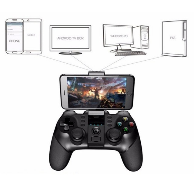 Ipega 9076 Wireless Bluetooth Gamepad for PS3 Gaming Controller with Stand