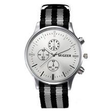 Men Sports Military Watches with NATO Nylon Watchband Male Chronograph Quartz Wristwatch Waterproof James Bond 007 Clock