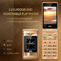 BLT Dual 2.8 Touch Screen Long Standby Big Russian Key Loud Sound Senior Flip Cell Mobile Phone For Old People P022