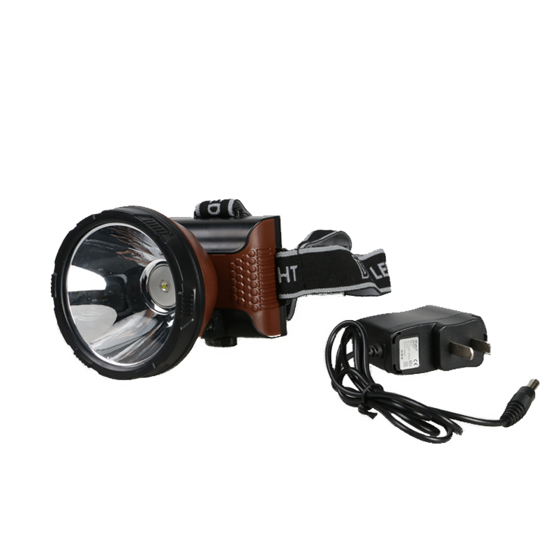 Led Spotlight Headlamp: Waterproof Headlamp 6000MA Lumens LED Headlight Led