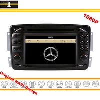For Mercedes Benz CLK W208 A208 1996 2003 Car GPS Navigation Stereo Radio CD DVD Player