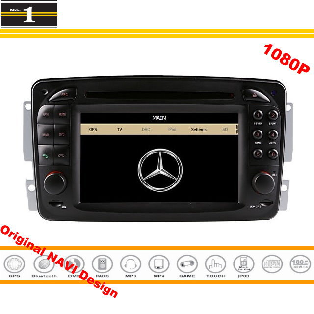 for mercedes benz clk w208 a208 1996 2003 car gps. Black Bedroom Furniture Sets. Home Design Ideas