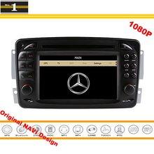 For Mercedes Benz CLK W208 / A208 1996~2003 Car GPS Navigation Stereo Radio CD DVD Player 1080P HD Screen Original Design System