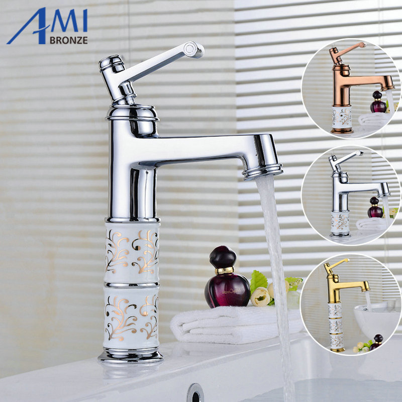 11.2 Newly Arrival Bathroom Basin Faucets Chrome Polished Mixer Brass Faucet Porcelain Mixer Tap Hot Cold Faucet  9012CP torayvino tap bathroom shower faucet with chrome polished cold