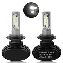 цена на 2x 50W LED Car Light H7 Headlight DRL High Power Fog Light Bulb Daytime Running Light FOR Audi BMW VW Ford Hyundai Honda Toyota