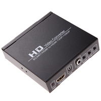 Scart/HDMI to HDMI 720P 1080P HD Video Converter Monitor Box for HDTV DVD STB For PS2, PS3, PSP, Wii, XBOX360 UK plug