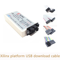 Xilinx Platform Cable USB Download Cable Jtag Programmer For FPGA CPLD XC2C256