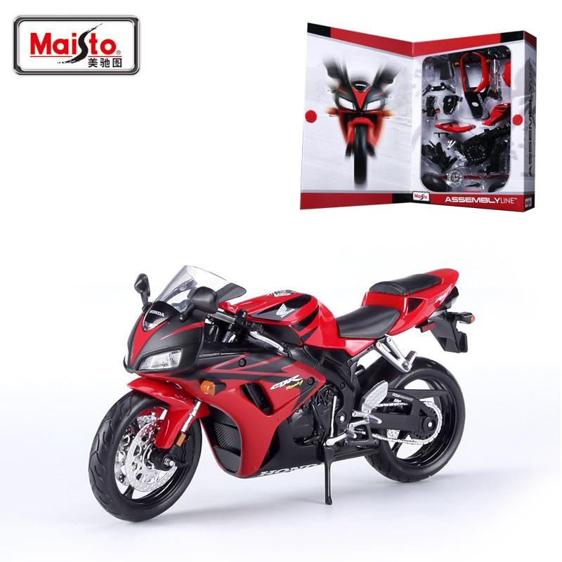 Maisto H CBR1000RR modelo de motocicleta Kits de construcción 1/12 - Vehículos de juguete para niños - foto 1